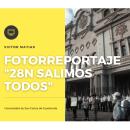 Fotoreportaje   28N Salimos todos. Um projeto de Fotografia, Comunicación e Ilustração de Victor Matias - 28.11.2020