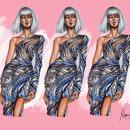 Charbel Zoe Haute Couture. Um projeto de Design, Ilustração, Moda, Pintura, Desenho e Design de moda de Marïa Toscano - 11.09.2021