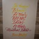 Mi Proyecto del curso: Principios de la caligrafía con brush pen. Um projeto de Caligrafia, Brush painting e Caligrafia com brush pen de Paul Rios - 10.09.2021