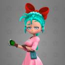 Bulma. Um projeto de Design, Ilustração, 3D, Design gráfico, Comic, Modelagem 3D, Concept Art e Design de personagens 3D de Adrián Pastorizzo - 14.09.2021