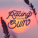 """Racing with the Sun"" • Projet : Lettering publicitaire animé avec Procreate. Um projeto de Animação, Pós-produção, Tipografia, Caligrafia, Lettering e Lettering digital de Clémentine Jeanne - 13.09.2021"
