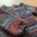 Mi Proyecto del curso:  Top-down: prendas a crochet de una sola pieza. Um projeto de Moda, Design de moda, Tecido, DIY e Crochê de Pamela Villavicencio - 09.09.2021
