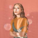 Meu projeto do curso: Técnicas digitais de retrato ilustrado. Un proyecto de Ilustración, Ilustración digital, Ilustración de retrato y Pintura digital de Gabriela Linhares de Alcântara - 19.09.2021