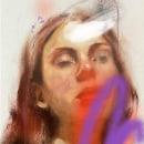 Mi Proyecto del curso: Retrato experimental: fusiona óleo, acrílico y pintura en spray . Un proyecto de Bellas Artes, Pintura, Ilustración de retrato, Pintura acrílica y Pintura al óleo de Vrigit Smith - 19.09.2021