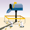 """Ilustración del artículo: """"Me roban las revistas del buzón"""" para el Diario El Correo. Um projeto de Ilustração, Esboçado, Desenho e Ilustração digital de Daniel Crespo Saavedra - 19.09.2021"""