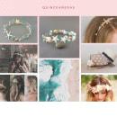 Mi Proyecto del curso: Diseño de accesorios para el cabello. Um projeto de Design de acessórios, Artesanato e Design de joias de Tania Gonzalez Rodriguez - 16.09.2021