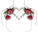 My project in Botanical Tattoo Design with Procreate course. Un progetto di Illustrazione, Illustrazione digitale, Design di tatuaggi e Illustrazione botanica di Céline Munisso - 21.09.2021