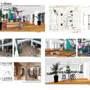 GH's House. Um projeto de Arquitetura de interiores, Design de interiores e Interiores de Phiphak Christopher - 21.09.2021