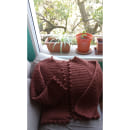 Mi Proyecto del curso:  Top-down: prendas a crochet de una sola pieza. Um projeto de Moda, Design de moda, Tecido, DIY e Crochê de Viviana Sagaría - 19.09.2021