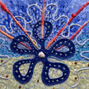 Universal Energy Symbol. A Illustration, Crafts, and Embroider project by Sarah Lowes - 07.18.2021