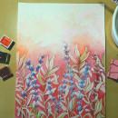 Mi Proyecto del curso: Técnicas de acuarela en negativo para ilustración botánica. Un progetto di Illustrazione, Pittura ad acquerello e Illustrazione botanica di Marga Gst - 25.09.2021