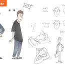 Breath sync sleep -2d animation. Um projeto de Animação, Animação de personagens, Animação 2D, Animação 3D, Stor e board de roy - 25.09.2021