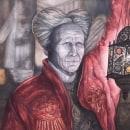 BRAM STOKER'S DRACULA: Ilustración con acuarela: recrea tus escenas más icónicas. Um projeto de Ilustração, Artes plásticas, Pintura e Pintura em aquarela de Alex Vigo - 24.09.2021
