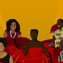 As Vozes das Mulheres Negras Latino-Americanas e Caribenhas. Un proyecto de Ilustración, Pintura digital y Dibujo artístico de Natalia De Souza Flores - 20.09.2021