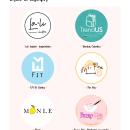 diseño de logotipos. A Design project by Laura Quevedo - 27.09.2021