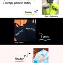 Aplicación de identidad corporativa a diferentes productos textiles. A Werbung project by Laura Quevedo - 27.09.2021