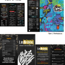 Diseño de Menús de restaurantes. A Illustration, Design und Werbung project by Laura Quevedo - 27.09.2021