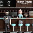 COFFEE SHOP. Un progetto di Illustrazione, 3D, Direzione artistica, Br, ing e identità di marca, Character Design, Architettura d'interni, Animazione 3D, Modellazione 3D, Arte concettuale , e Progettazione 3D di Guillermo Tejeda - 27.09.2021