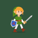 Link en la Mazmorra. Um projeto de Animação, Design de personagens, Animação de personagens e Animação 2D de Moncho Massé - 30.09.2021
