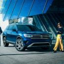 Volkswagen Teramont. Um projeto de 3D, Pós-produção, Retoque fotográfico e Fotomontagem de Ramon Saroldi - 17.08.2021