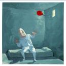 Mi proyecto del curso que no había posteado, ups!, El Globo Rojo. Un proyecto de Ilustración, Narrativa y Pintura gouache de Enrique Torralba - 20.11.2020