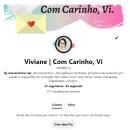 Com Carinho, Vi - Meu projeto do curso: PinterestBusiness como ferramenta de marketing. Um projeto de Design de informação, Marketing digital e Social Media de Viviane Vaz - 02.10.2021