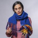 Mi Proyecto del curso: Tapiz y tejido de punto aplicado a prendas y accesorios. Um projeto de Design de acessórios, Artesanato, Moda, Tecido e DIY de Lorena Madrazo Ciruelos - 05.10.2021