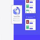 Aplicación móvil: Bib. Um projeto de UI / UX, Mobile design, Design digital e Design de apps  de Jesús Acosta - 18.05.2020