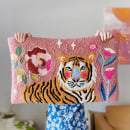 Punch Needle Tiger Rug. A Punch Needle project by byadelinewang - 10.12.2021