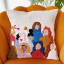 Punch needle pillow - Gather again. A Punch Needle project by byadelinewang - 10.12.2021