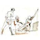 Figura, danza y movimiento. Um projeto de Desenho e Ilustração de Inma Serrano - 13.10.2021