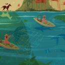 My project in Magical Realism for Children's Illustration course. Um projeto de Ilustração, Design de personagens, Ilustração digital, Ilustração infantil e Ilustração editorial de Juanita Londoño Gaviria - 14.10.2021