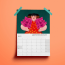 Calendario ilustrado 'Jardinario 2022'. Um projeto de Design, Ilustração, Ilustração digital e Ilustração editorial de Raquel Feria Legrand - 01.10.2021
