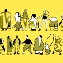 Ilustraciones para marca de chocolates Lulu Brown . A Illustration, Br und ing und Identität project by Brenda Battaglia - 15.10.2021