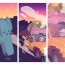 Outta Space. Um projeto de Ilustração, Design de personagens, Concept Art e Desenho digital de Rabbit's Hollow - 27.01.2021