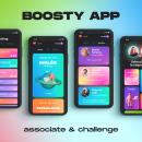 BOOSTY – associate & challenge. Um projeto de Design de produtos de Jaume Bagés Mestre - 15.05.2021