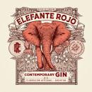 Elefante Rojo /// Gin Artesanal cordobés 🐘🇦🇷. Um projeto de Design, Ilustração, Direção de arte, Design gráfico, Packaging, Design de produtos, Desenho a lápis, Desenho, Ilustração digital, Desenho artístico, Design digital, Ilustração botânica, Desenho tipográfico e Desenho digital de Emi Renzi - 18.10.2021