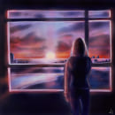 Sunset. A Illustration project by Lucrezia Lando - 10.18.2021