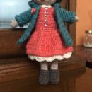 Mi bella amigurita, vestida y calzada.. A To, Design, Fiber Arts, Crochet, and Amigurumi project by Noemì Estrada - 10.20.2021