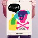Suerte - Teatro. Um projeto de Design e Design de cartaz de ZORZAL - 26.10.2021
