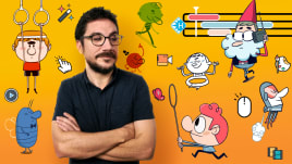 Introducción a Toon Boom Harmony para animación de personajes 2D. Um curso de 3D e Animação de Pedro Alpera