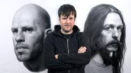Retrato realista com lápis grafite. Um curso de Ilustração de Diego Catalan Amilivia