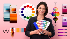 Color Theory for Textile Projects. A Craft course by Karen Barbé