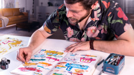 Técnicas de ilustração para desbloquear sua criatividade. Um curso de Ilustração de Adolfo Serra