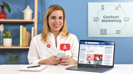 Marketing de contenidos para redes sociales. Un curso de Marketing y Negocios de Reina Rodríguez Taylhardat