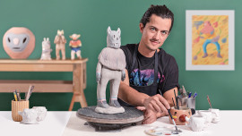 Criação e modelagem de personagens em cerâmica. Um curso de Craft de Martin Ferreyra
