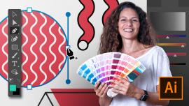 Adobe Illustrator para diseño gráfico. Un curso de Diseño de Valeria Dubin