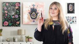 Creación de paletas de color con acuarela. Un curso de Ilustración de Ana Victoria Calderon