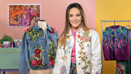 Diseño de moda: pintura y bordado sobre prendas. Un curso de Craft de Ana María Restrepo