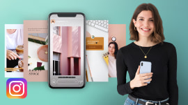 Content Creation and Editing for Instagram Stories. A Marketing, Business, Photography, and Video course by Mina Barrio